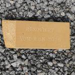 Renovierung der Sandsteinbank 12