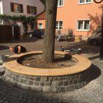 Renovierung der Sandsteinbank 3