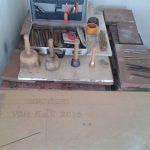 Renovierung der Sandsteinbank 5