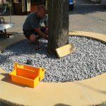 Renovierung der Sandsteinbank 9
