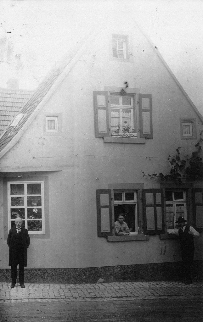 Das Haus Alzeyer Str. 23 (um 1900)