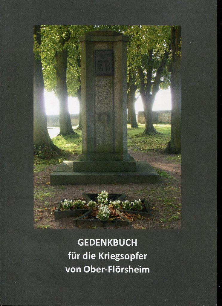 Gedenkbuch - Titelseite